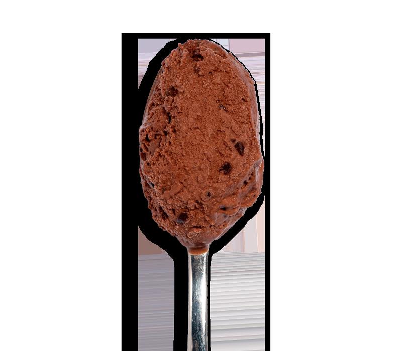Glace Chocolat Noir & Copeaux de...